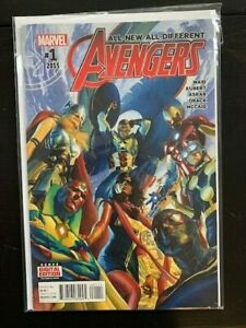 All New / All Different  Avengers #1  VF/NM!  Waid / Kubert  2015 Marvel Comics