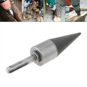 30MM Steel Speedy Screw Cones Firewood Drill Bit Split Bit with Round Handle