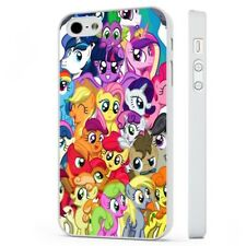 My Little Pony Colourful Collage WHITE PHONE CASE COVER fits iPHONE