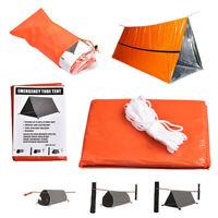 Survival Tube Tent Emergency Shelter Waterproof Blanket Rescue Kit Sleeping Bag