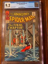 AMAZING SPIDER-MAN #33 2/66 CGC 9.2 OWW NICE HIGH GRADE BOOK!!