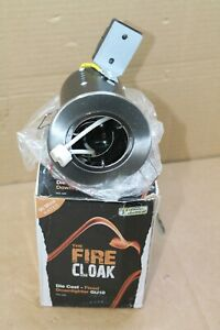 Fire Cloak Die Cast Satin Chrome Fire Rated Downlight