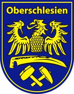 Autoaufkleber - Oberschlesien - Schlesien - Slask - Silesia