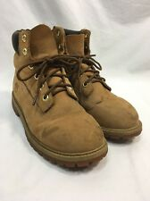Timberland 12909 Work Boots Classic Wheat Leather Mens 6M