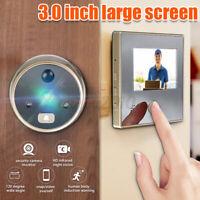 3''LCD Wireless Digital Peephole Viewer 120° Door Security Doorbell Video Camera