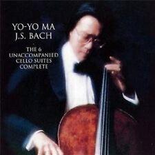 YO-YO MA - BACH: UNACCOMPANIED CELLO SUITES 2 CD NEU SOLOINSTRUMENT BACH