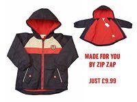 Baby Boys Coat Jacket Spring Summer Lightweight Raincoat 1Mth - 3Yrs BNWT ZipZap
