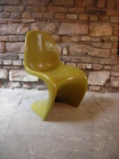 1974 Verner Panton Stuhl Chair Miller Vitra  Olivgrün Selten