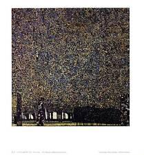 Gustav Klimt Park Poster Kunstdruck Bild 37x35cm - Kostenloser Versand