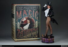 SEXXY ~ SIDESHOW ~ ZATANNA Premium STATUE Figure ~Displayed w/ Shipper Box #173