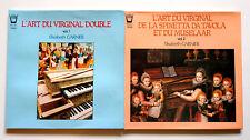 2 LP ARION L'Art du Virginal vol. 1 & 2 ELISABETH GARNIER