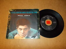 PAUL ANKA - I NEVER KNEW YOUR NAME - A STEEL GUITAR AND  / LISTEN - TEEN POPCORN