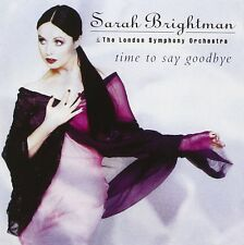 Time to Say Goodbye by Sarah Brightman (CD, 1997, EMI Angel (USA)) FBC39