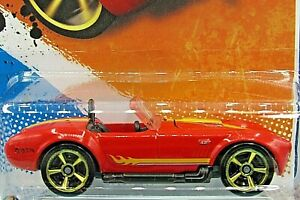 HOT WHEELS VHTF 2011 MUSCLE MANIA SERIES SHELBY COBRA 427 S/C KMART COLOR
