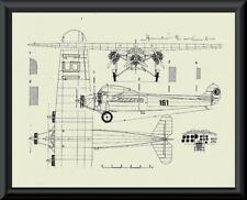 Amelia Earhart Autograph Reprint Diagram of Fokker On Fine Linen Paper P054