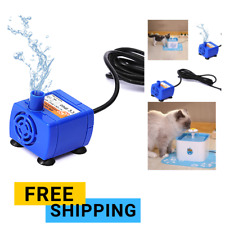 Mini Drinking Fountain Pump Home Replacement Water Bowl Drinking For Dog And Cat