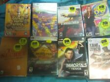 NEW LOT 8x PC Games Cypher Mission Kane & Lynch SIMS Safari Photo Africa