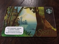 """Starbucks """"SEATTLE 2016"""" Gift Card - New No Value"""