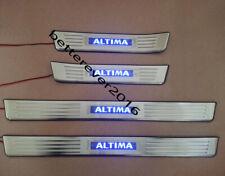 4 Door LED Light Illuminated Door Sills Scuff Plate for Nissan Altima 2013-2015