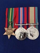 Replica World war 2 medals set of 3, Pacific Star, War Medal, ASM 1939 - 45. FS