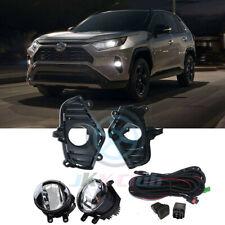 LED de luz de conducción OEM Cubierta Parachoques Lámpara de Niebla Kit de cableado para Toyota RAV4 2019-2021