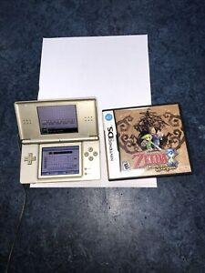 Nintendo DS Lite Legend of Zelda: Phantom Hourglass Gold Handheld System