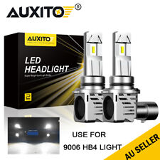 2X 9006 HB4 LED Headlight High/Low Beam Kit 12000LM Super White lights Globes AU