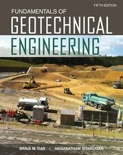 Fundamentals of Geotechnical Engineering, 5th ed. hardcover by Das and Sivakugan