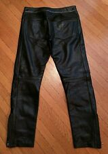ISABEL MARANT LEATHER MOTORCYCLE BIKER PANTS 33R jacket folsom st gay mister S