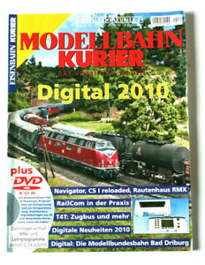 Modellbahn-Kurier Digital 2010 Navigator RailCom Zugbus Modellbundesbahn Driburg