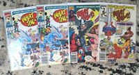 What the..?! #1,8,15(x2) **FOUR ISSUE LOT** (Marvel 1988) Parody Comic - VF/NM