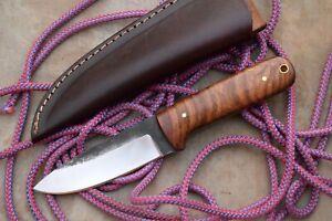 "HANDMADE 9"" HUNTING-SKINNING-BUSH CRAFT BEAUTIFUL JUNGLE USE CAMPING KNIFE"