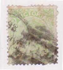 (K47-142) 1884 VIC 1d green QVIC (XB)