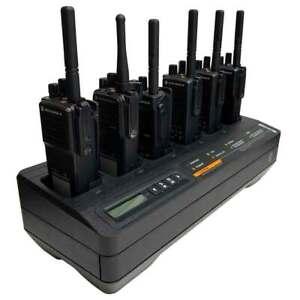 Motorola IMPRES 6 Way Charger DP4400e DP4401e DP4800e DP4801e DP2400e DP2600e