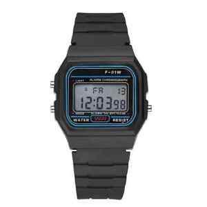 Casio Men's F91W-1 Classsic Black Digital 100% NM Multifunctional Watch