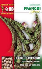 Semi/Seeds FAGIOLO Rampicante Signora Della Campagna