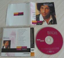 CD ALBUM BEST OF SELECTION TALENTS MICHEL BERGER VOL. 1 15 TITRES 2002
