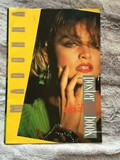 """Madonna Poster Book of 20-11"""" x 17"""" Tear Out Posters Complete 1986"""