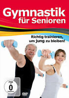 DVD Gymnastik Für Senioren, Fitness das richtig trainieren um Jung zu bleiben