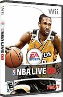 NBA Live 08 fo Nintendo Wii WII Games Video Game