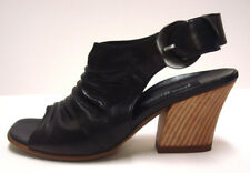 *NIB Paul Green Enzi Black Heeled Sandal 5.5M-Org.$269