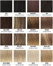 Hair Clip in Bangs Hair Extensions Side Fringes,Ginger Brown R830