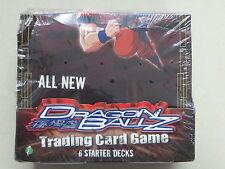 DRAGON BALL Z TRADING CARD GAME STARTER DECK BOX SCORE ENTERTAINMENT SEALED 2005