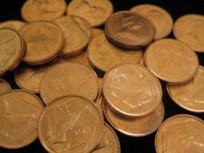 Cayman Islands 1 Cent BU 1977 Great Caiman Thrush bird BU LOT OF 25 coin