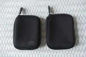Western Digital My Passport Neoprene Carrying Case for Portable Hard Drive x2