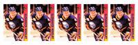 (5) 1993 Ballstreet Alexander Mogilny Hockey Card Lot Buffalo Sabres