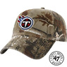 47 Brand Tennessee Titans Camo Realtree Hunting Football Hat Cap Adjustable