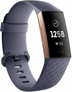Fitbit Charge 3 HR Heart Rate Monitor Fitness Activity Tracker Multi Colors