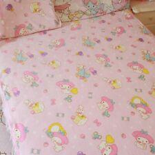 Melody Blanket Bed Sheet Flannel Pillowcase Big Pink Summer Fleece Blanke