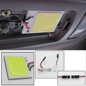 1× 48SMD COB LED T10 Car Interior Panel Light 12V Dome Lamp Bulb 4W Accessories